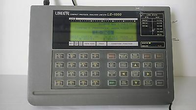 LINEEYE, Used / LE-1000 / Compact Protocol Analyzer