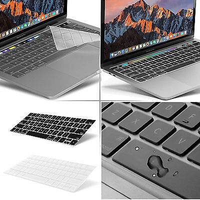 Waterproof Clear Silicone Keyboard Cover Skin F 2016 Macbook Pro 13 15 Touch Bar