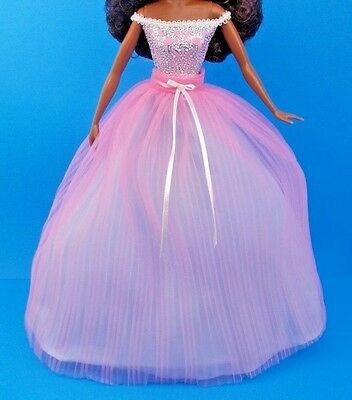 2017 BARBIE BIRTHDAY Wishes Model Muse Doll Collector Dress Skirt