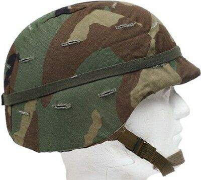 US PASGT Battle Helmet Army Replica with Original Camouflage cover cat Eye