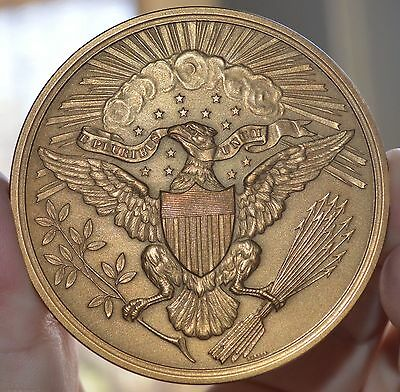 "UNITED STATES GREAT SEAL US MINT BRONZE MEDAL 2 1/2"" sold out mint"