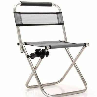 Portable Ultralight Multifunction Fishing Chair Folding Chair with Fishing Fort