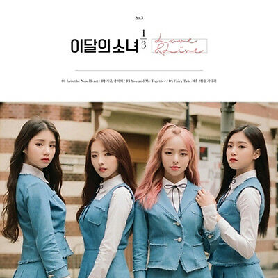 Monthly Girl 1/3 Loona[Love&Live]1st Mini Reissue Album Normal CD+Book+Card+Gift