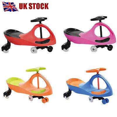 Wiggle Swing Car Ride On Swivel Scooter Gyro Twist Go Kdis Ride-On Car Bith Gift