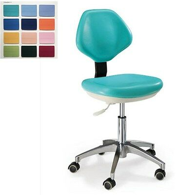 New Medical Dental Dentist's Chair Doctor's Stool Mobile Chair PU Leather HS-3