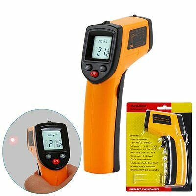 Digital Thermometer Gun Non-contact Infrared IR Laser Temperature Messer XNF2