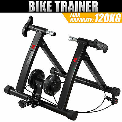 Indoor Bicycle Trainer Stand Bike Cycling Magnetic Roller Training Exercise Gym