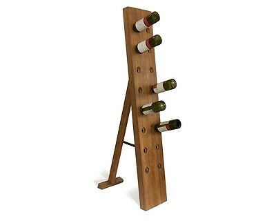 New Wine Riddling Storage Display Rack Plantation Farmed Wood gorgeous for Bar