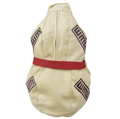 Anime Naruto Gaara Gourd Canvas Backpack Sling Shoulder Bag Cosplay Prop Satchel