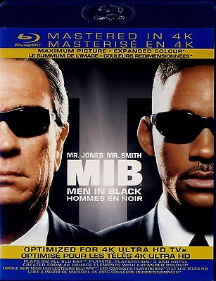 USED BLU-RAY // MEN IN BLACK // Tommy Lee Jones, Will Smith, Linda Fiorentino, V