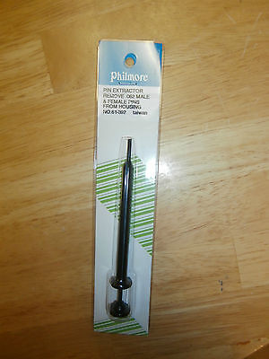 Philmore 61-392 Pin .062(=Molex) Extraction Tool,NIP