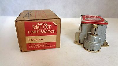 New In Box Namco Snap-Lock Mark Ii D1200G1B1 Limit Switch