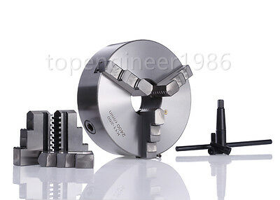 80/100/125mm Self Centering 3 Jaw Lathe Chuck CNC Lathe Milling Rotational Axis