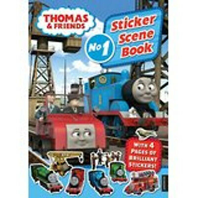 Thomas & Friends Sticker Scene Book (Sticker Scene Books), New,  Book