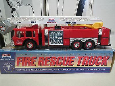 Exxon 1998 Fire Rescue Truck #7 In Series- Nib-Mint