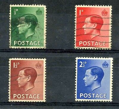 1936 King Edward VIII Used Set