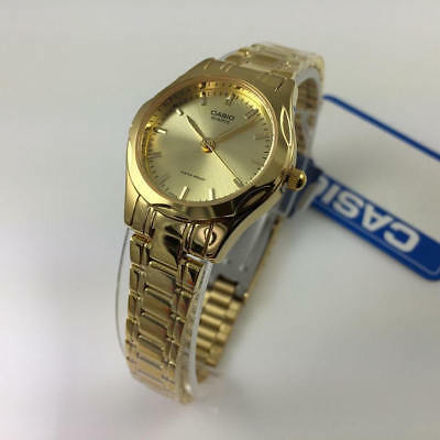 Women's Casio Classic Stainless Steel Gold Tone Watch LTP1275G-9A