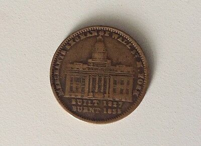 1837 Merchants Exchange Wall St. N. York Millions For Defence Not One Cent