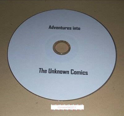 Adventures into the Unknown 112 vintage comics in CDisplay (Included) on 1 Disc