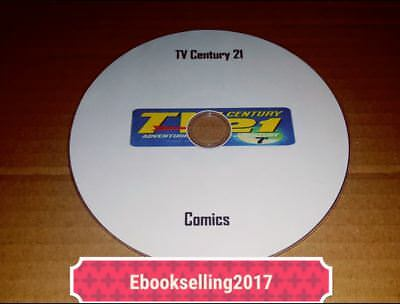 ebooks, TV Century 21 Comics & Annuals on Disc PDF & CR Display(included) Format