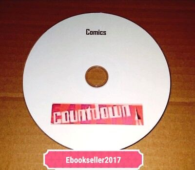 ebooks, Countdown/TV Action Comics on Disc PDF Formats to read on PC and Laptops