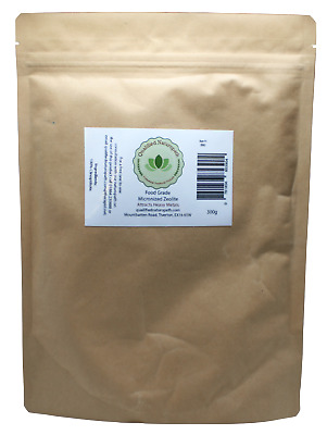 Zeolite - human grade small particle size - pure - various quantities available