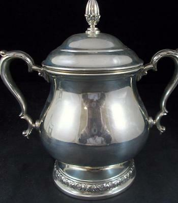 "International Sterling PRELUDE PLAIN Sugar Bowl ""C366"" GREAT CONDITION"