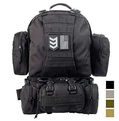 3V Gear Paratus 3 Day Operator's Pack Military Style Molle & Hydration Compatibl