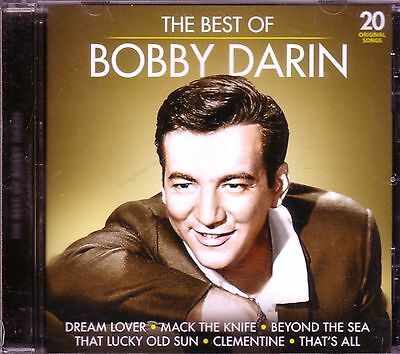 BOBBY DARIN Best of CD Classic 50s Rock Anthology MACK KNIFE DREAM LOVER SPLISH