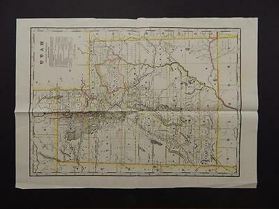 Utah State Map, 1914, Indian Reservation, T1#44