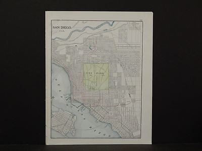 California Map, 1914, City of Oakland, Double Sided, X1#11