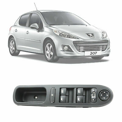Brand New Peugeot 207 Electric Window & Mirror Control Switch Console 6490.EH
