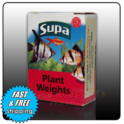 SUPA SAFE Aquarium PLANT LEAD WEIGHTS Fish Tank TROPICAL Coldwater DIY Anchor