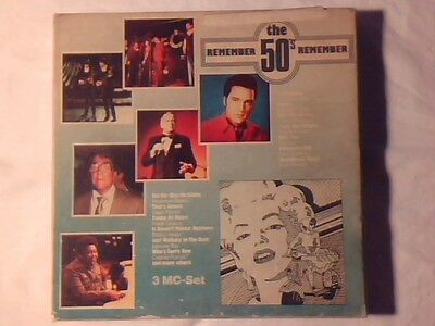 3MC Remember the 50's ELVIS PRESLEY PLATTERS RARISSIME NUOVE VERY RARE UNPLAYED!