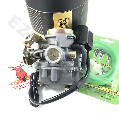 PERFORMANCE CARBURETOR 50-80cc GY6 4STROKE CHINESE SCOOTER JONWAY BAJA JMSTAR