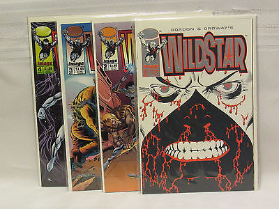 Lot of 4 Wild Star #1 to #4 (Image 1993)
