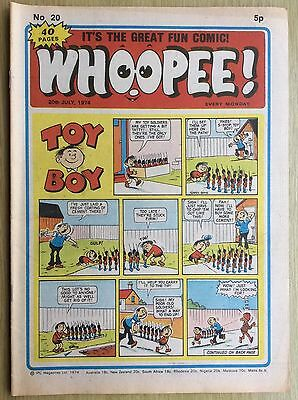 WHOOPEE! Comic - Issue No. 20 - 1974