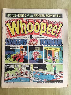 WHOOPEE! Comic + Whoopee SPOTTER BOOK of TV PULLOUT - PART TWO: 14 January 1978