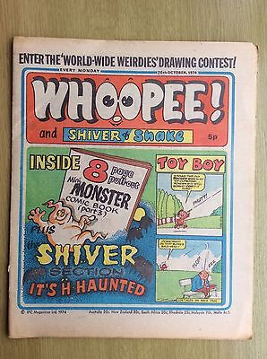 WHOOPEE! Comic + 8-page PULLOUT - PART THREE of Frankie Stein Comic: 26 Oct 1974