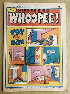 WHOOPEE! Comic - Issue No. 16 - 1974