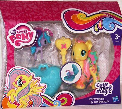 Hasbro A8742 My little Pony Cutie Mark Magic Fluttershy & Sea Breezie NEU / OVP