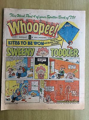 WHOOPEE! Comic + Whoopee SPOTTER BOOK of TV PULLOUT - PART FOUR : 28th Jan 1978