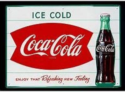 Ice Cold Coca Cola Refreshing New Feeling Fridge Magnet