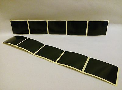 1X DOUBLE SIDED STICKY SELF ADHESIVE VALET PROOF NUMBER PLATE PAD 40X30X1mm