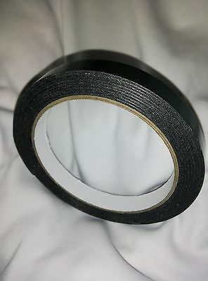 16 NUMBER PLATE Sticky tape fixing mounting Double Sided foam ROLL PADS 155X85X1