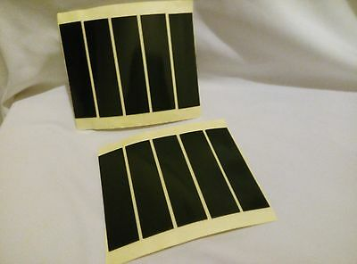 New Double Sided Self Adhesive Sticky Number Plate Pads / Stickers x50 95X25X1mm
