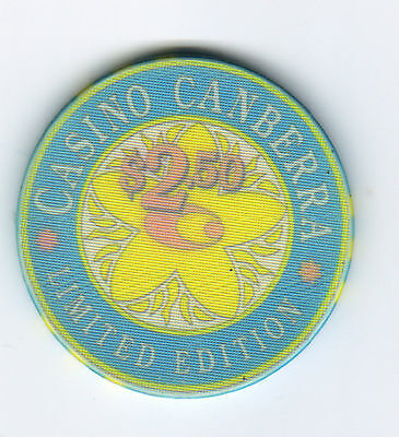 $2.50 Casino Canberra - Limited Edition Casino Chip -light coloured
