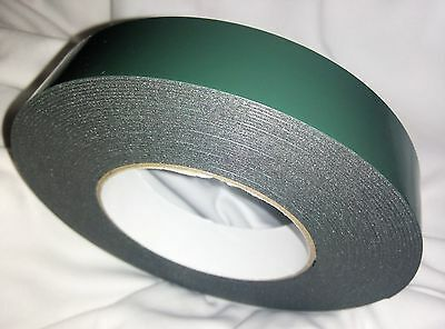 Number Plate Sticky Double sided Tape roll WEATHER PROOF FREE SHIP 25x1MMx10M