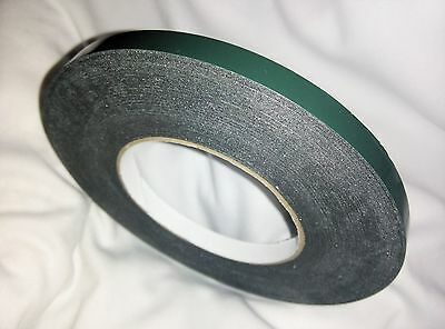 Number Plate Sticky Double sided Tape roll WEATHER PROOF FREE SHIP 10x1MMx10M
