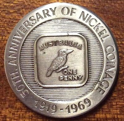 1919-1969 50th anniversary of nickel coinage